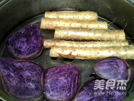 蜂蜜紫薯山药糕怎么吃