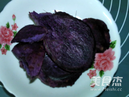 蜂蜜紫薯山药糕怎么炒