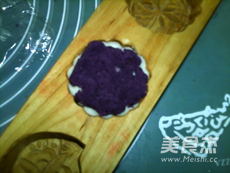 蜂蜜紫薯山药糕的制作方法