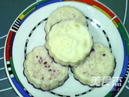 蜂蜜紫薯山药糕的做法大全
