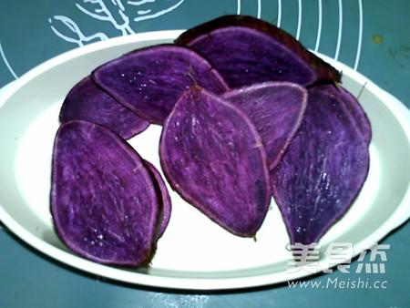 蜂蜜紫薯山药卷的家常做法