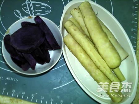 蜂蜜紫薯山药卷怎么做