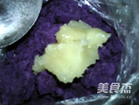 蜂蜜紫薯山药卷怎样煸
