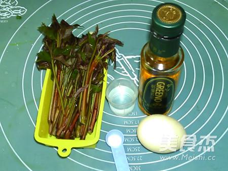 亚麻籽油香椿烘蛋的做法大全