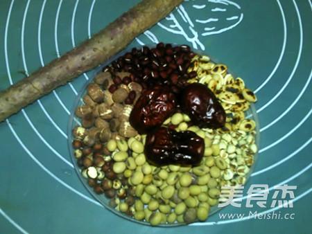 健脾八宝豆浆的做法大全