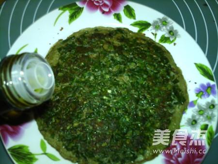 亚麻籽油蒲公英煎蛋饼怎样做