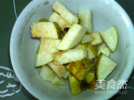 白菜甜菜根梨饮的做法图解