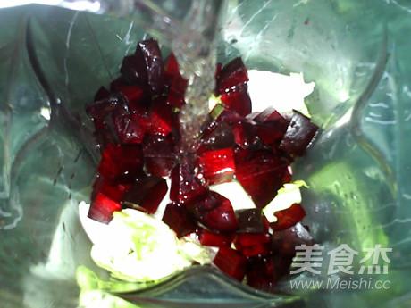 白菜甜菜根梨饮怎么做
