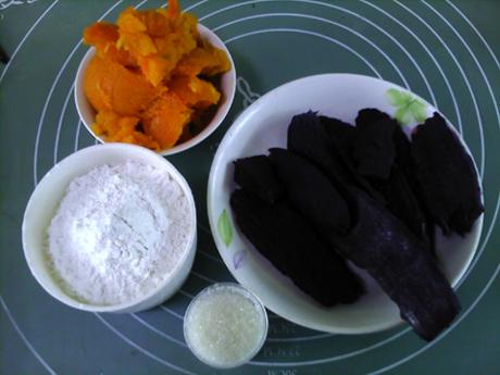 香糯紫薯南瓜饼的做法大全