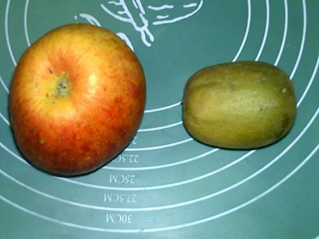 猕猴桃苹果饮的做法大全
