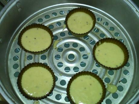 蒸猕猴桃松糕怎么煮