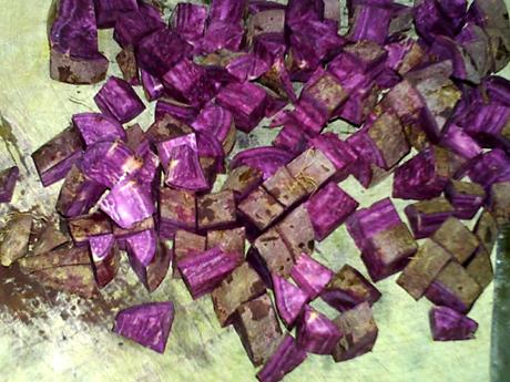 紫薯银耳汤的家常做法