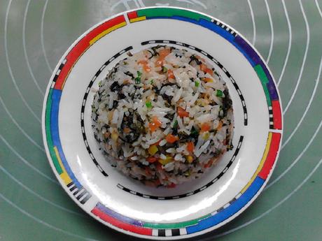 海苔胡萝卜炒饭怎样炒