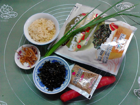 银鱼海苔胡萝卜炒方便面的做法大全