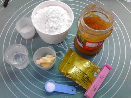柚子茶土司卷的做法大全