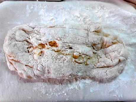 天然酵种奶酪夏巴塔的制作方法