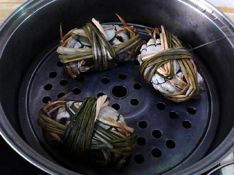 #最美不过中秋味#清蒸大闸蟹的简单做法