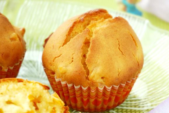 蜂蜜南瓜丝蛋糕成品图