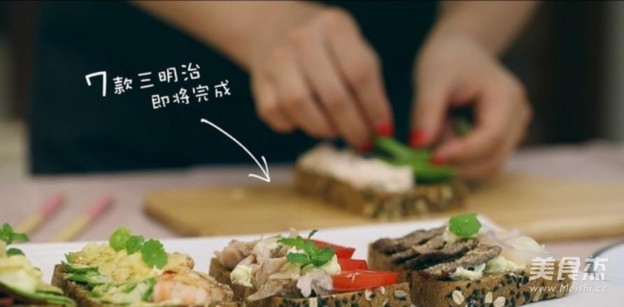 CP第十三弹:丹麦开放式三明治怎么做