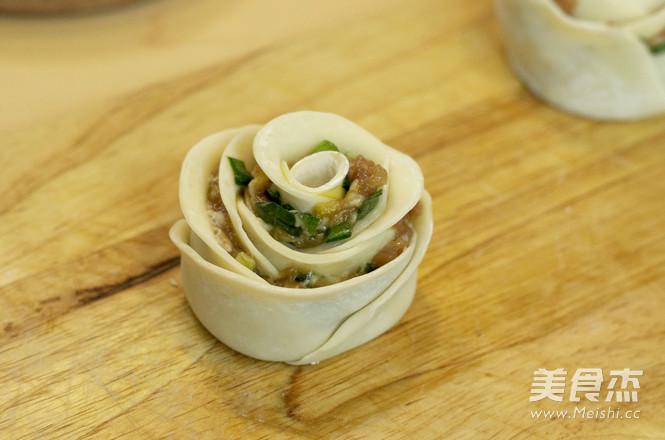 冬至-玫瑰花饺子的简单做法