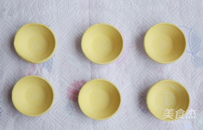七彩水果蛋挞的做法图解