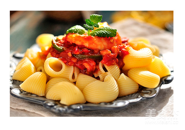 意式番茄通心粉成品图