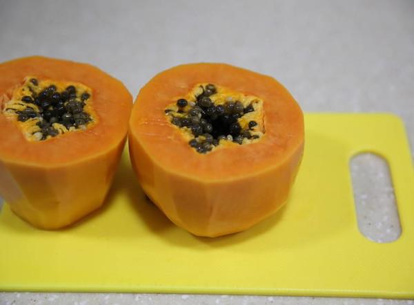 木瓜牛奶炖雪蛤怎么煮