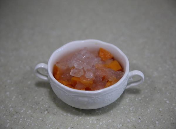 木瓜牛奶炖雪蛤怎样煸
