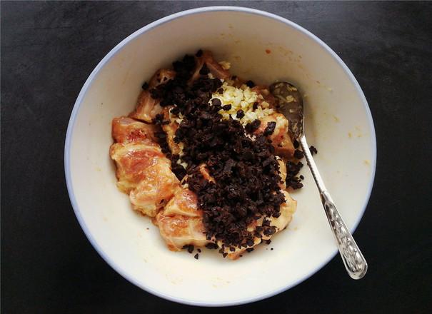 豉香芋头蒸排骨的简单做法