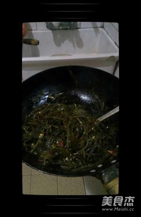 酸辣海带丝怎么吃