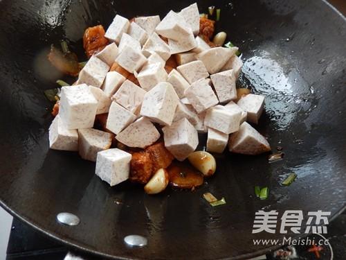芋头红烧肉怎么炒