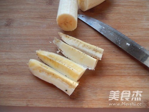 香蕉芝士春卷的做法图解