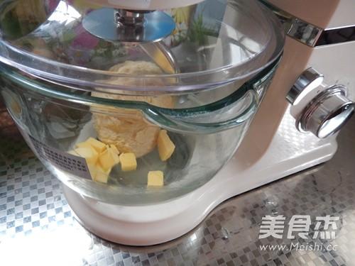 虾仁玉米面包的做法图解