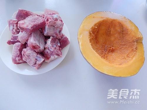 香烤南瓜排骨的做法大全