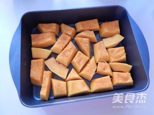 香烤南瓜排骨的简单做法