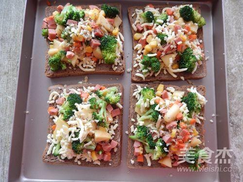 果蔬面包披萨怎么炒