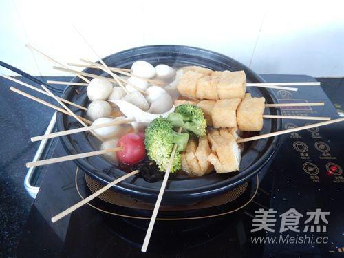 串串香火锅怎么煸