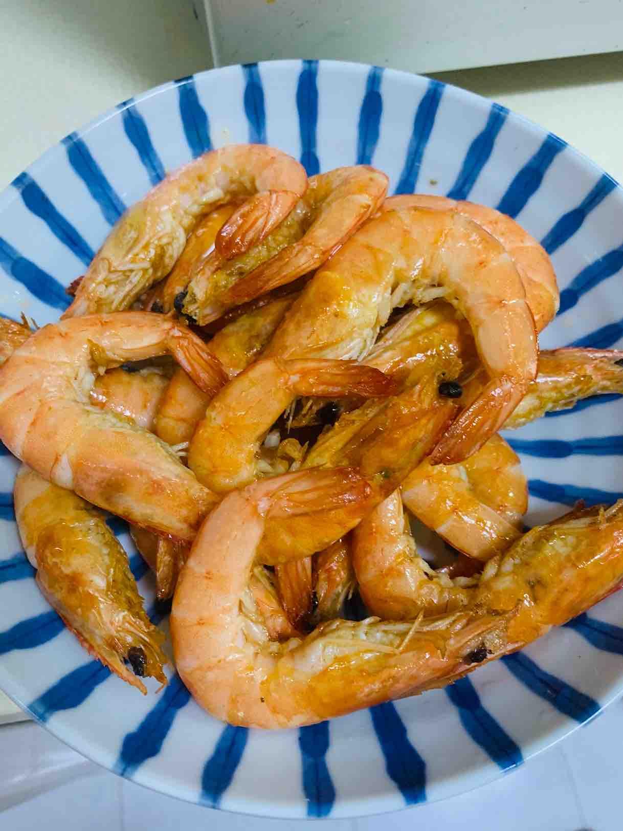 酱香海鲜大虾的家常做法