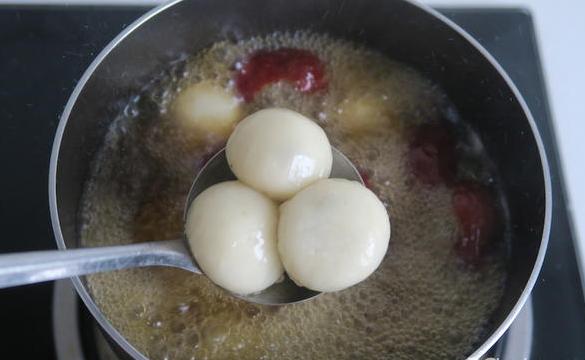 红枣汤圆羹怎么煮