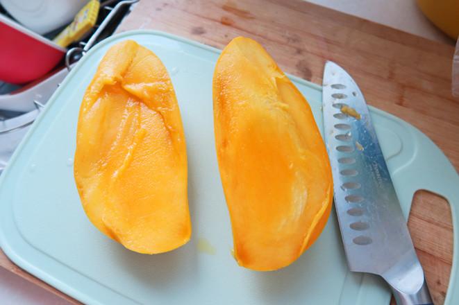 芒果牛奶西米露的家常做法