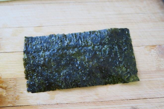 海苔寿司卷怎么吃