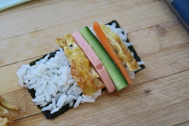 海苔寿司卷怎么炒