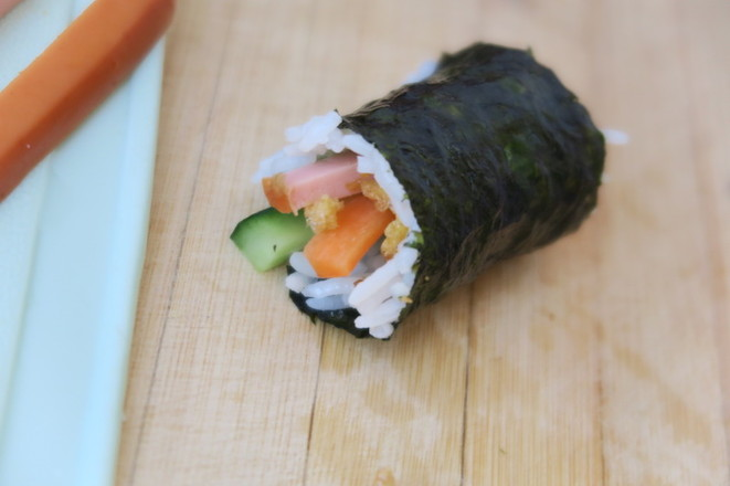 海苔寿司卷怎么煮