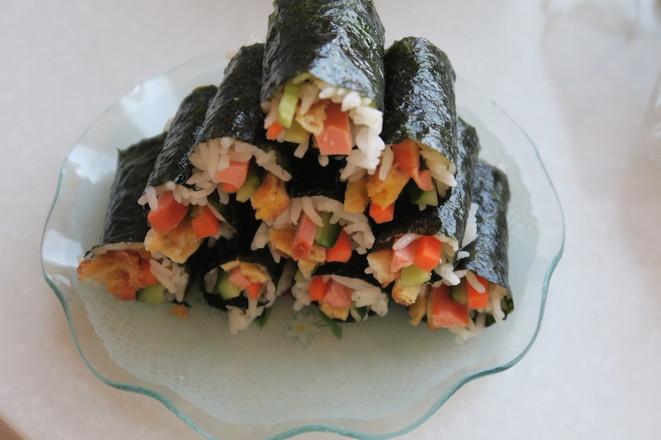 海苔寿司卷怎么炖