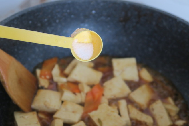 蚝油炖北豆腐怎么煮
