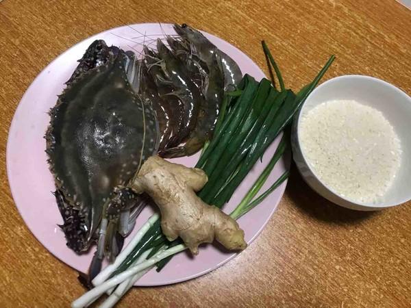 海鲜粥虾蟹粥的做法大全