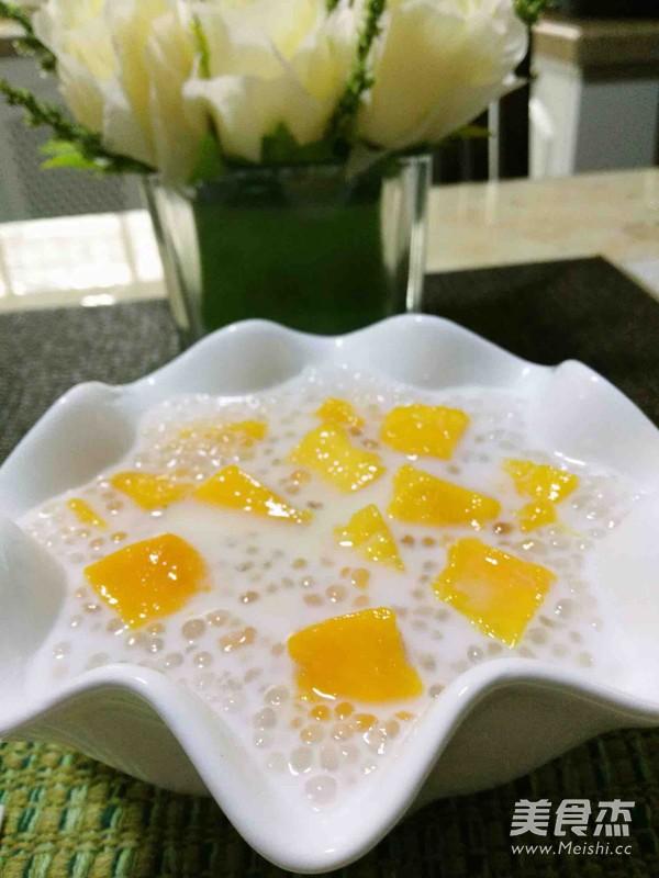 芒果椰汁西米露怎么做