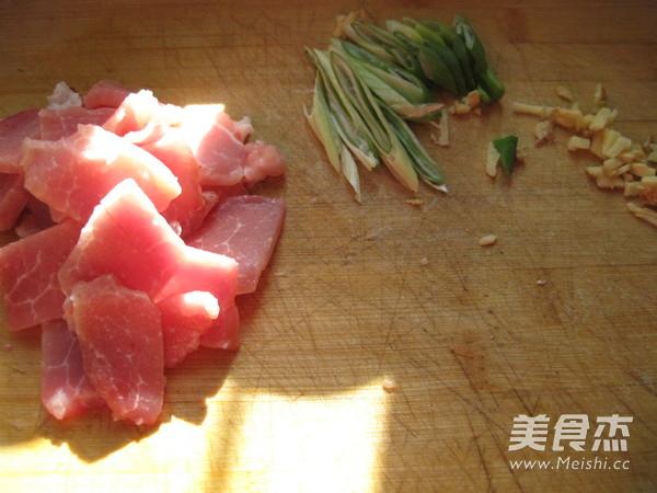 肉片炒鲜蘑怎么吃