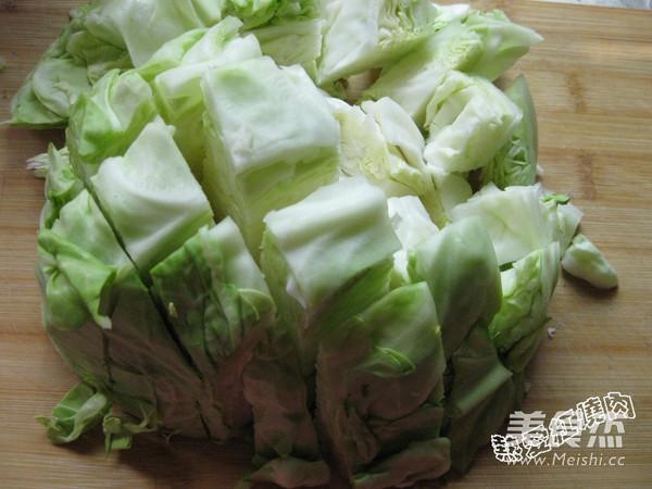 凉拌圆白菜的做法图解