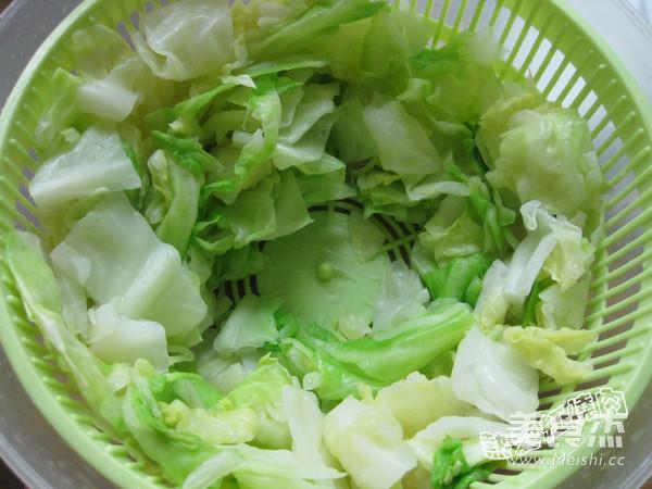 凉拌圆白菜的简单做法